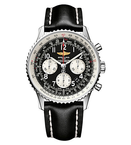 BREITLING Navitimer stainless steel watch