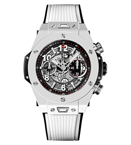HUBLOT 411.HX.1170.RX Big Bang Unico white ceramic watch