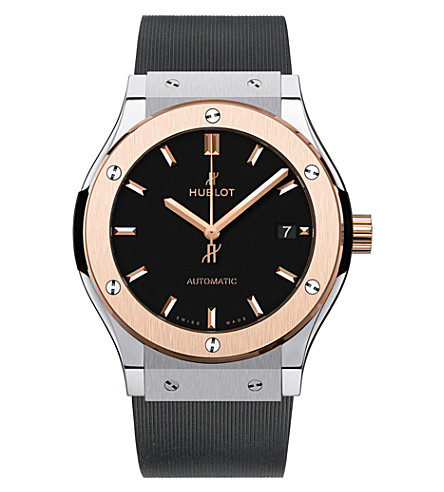 HUBLOT 511.NO.1181.RX classic fusion rose gold watch