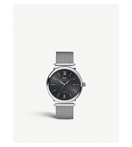 IWC IW356504 Portofino stainless steel watch
