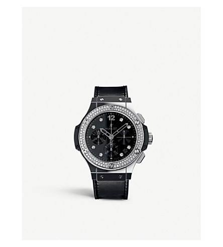 HUBLOT 341.sx.1270.vr.1104 Big bang steel diamonds watch