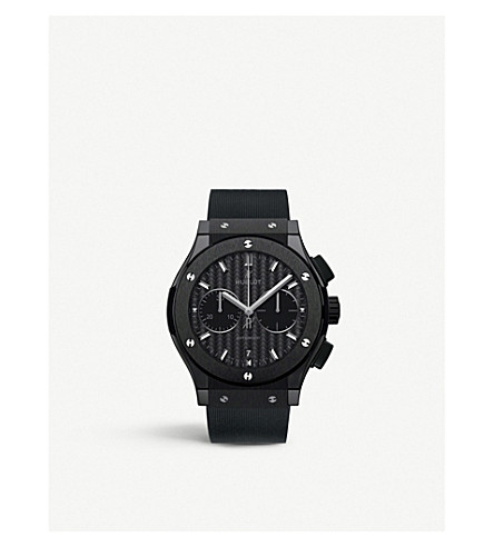 HUBLOT 521.CM.1771.RX classic fusion ceramic chronograph watch