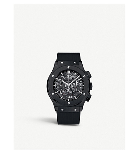 HUBLOT 525.cm.0170.rx classic aerofusion ceramic watch