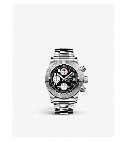 BREITLING Avenger II stainless steel watch