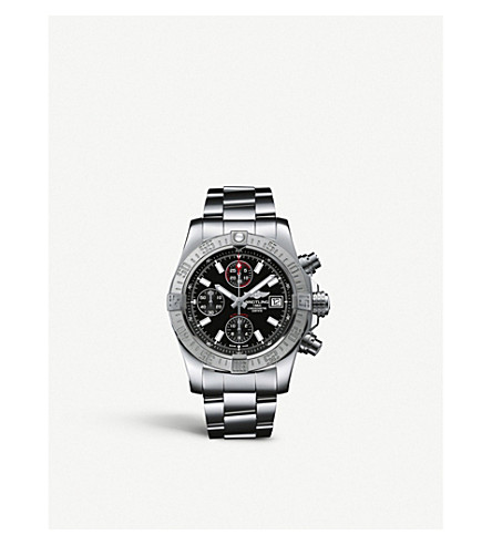 BREITLING Avenger stainless steel watch