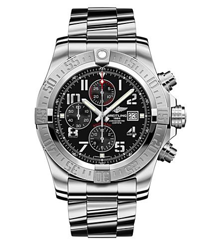BREITLING A1337111/BC28 168a 条超级复仇者二不锈钢计时手表