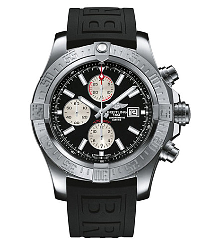 BREITLING A1338111/BC33 Avenger II stainless steel chronograph watch