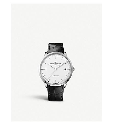 GIRARD-PERREGAUX 49551-11-132-BB60 1966 鳄鱼皮和不锈钢腕表