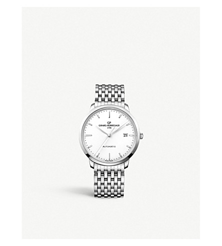 GIRARD-PERREGAUX 49555-11-131-11A 1966 不锈钢腕表