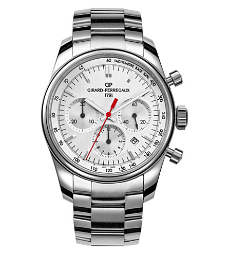 GIRARD-PERREGAUX 49590-11-111-11A Competizione stainless steel watch