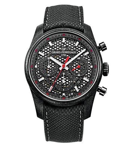 GIRARD-PERREGAUX 49590-39-612-BB6B Competizione carbon and titanium watch