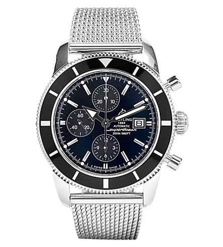 BREITLING A1332024/B908 152A Superocean Héritage stainless steel watch