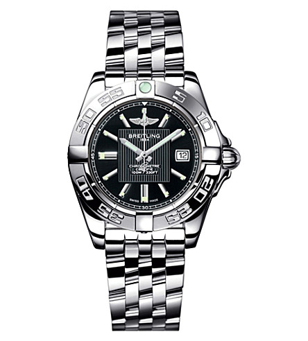 BREITLING A49350L2/BA07/366A Galactic stainless steel watch