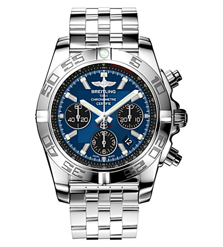 BREITLING AB042011/C852 Chronomat 44 stainless steel chronograph watch