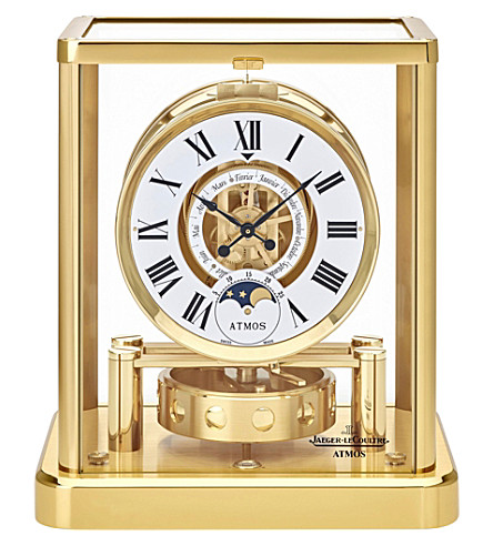 JAEGER-LECOULTRE Atmos Classique Phases de Lune table clock