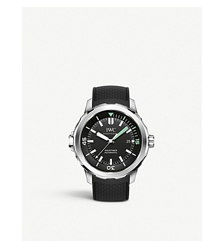 IWC IW329001 aquatimer stainless steel watch