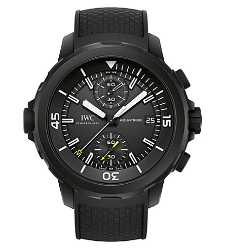 IWC IW379502 Aquatimer rubber-coating stainless steel watch