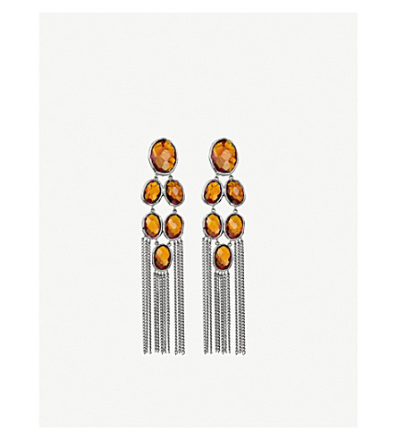 GUCCI Raindrop sterling silver earrings