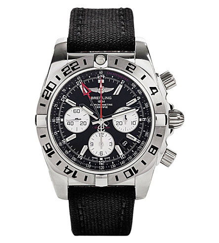 BREITLING Ab0420b9/bb56 101w chronomat 44 stainless steel watch