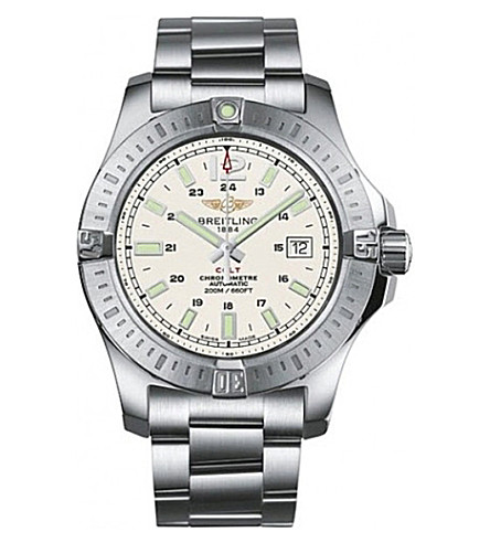 BREITLING Colt automatic stainless steel watch
