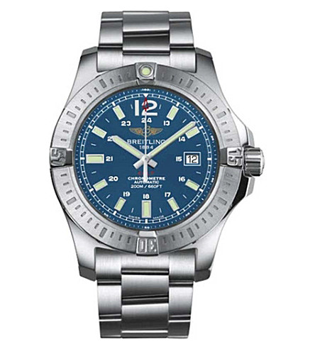 BREITLING A7438811|C907|173A Colt automatic stainless steel watch