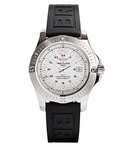 BREITLING A7438811/g792 152s 柯尔特石英不锈钢腕表
