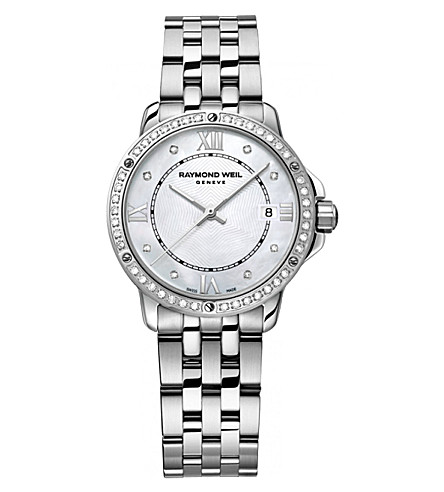 RAYMOND WEIL 5391-sts-00995 Tango diamond stainless steel watch