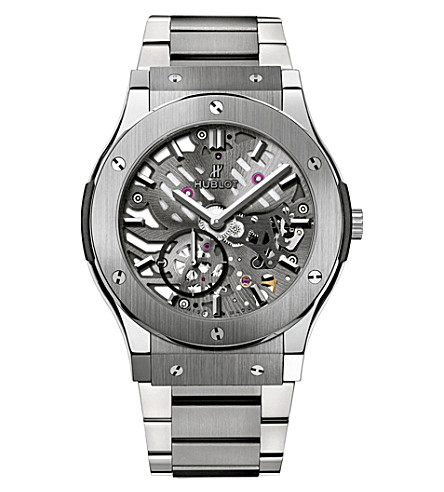 HUBLOT 545.NX.0170.NX Classic Fusion titanium watch