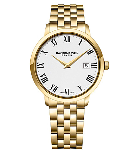 RAYMOND WEIL 5488-p-00300 Toccata gold-plated watch