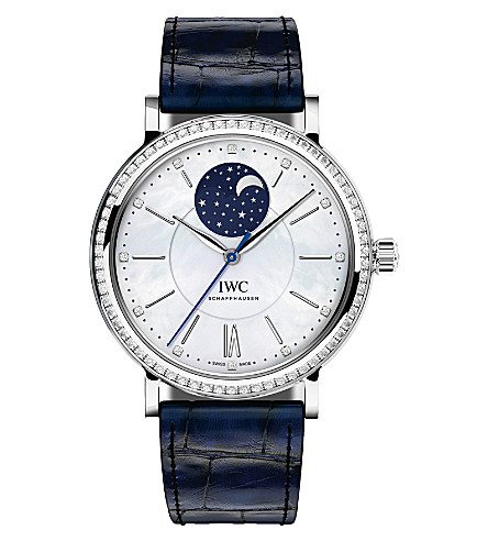 IWC SCHAFFHAUSEN IW459001 portofino midsize diamond watch