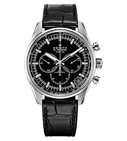 ZENITH 03.2080.400/21.C496 El Primero 36,000 stainless steel watch