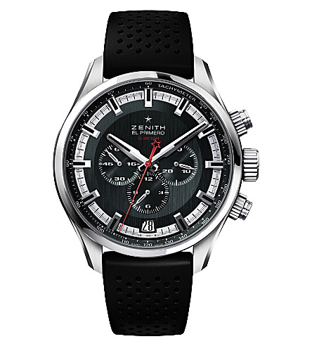 ZENITH El Primero leather watch