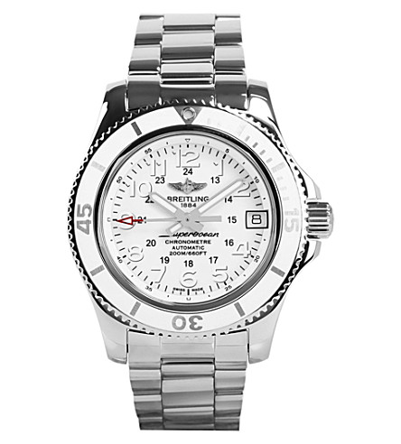 BREITLING A17312D2/A775 179A Superocean II stainless steel watch