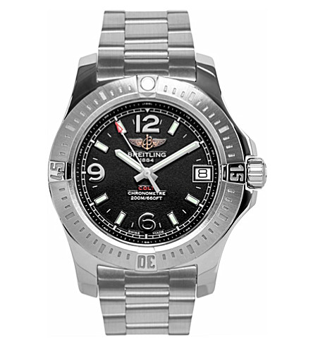 BREITLING A7438911/bd82 178a colt lady stainless steel watch