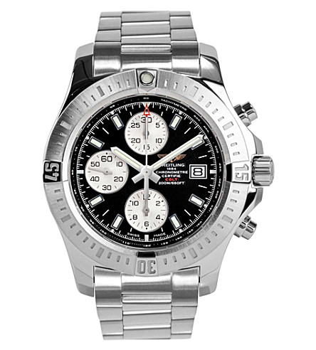 BREITLING A1338811/bd83 173a colt chronograph automatic stainless steel watch