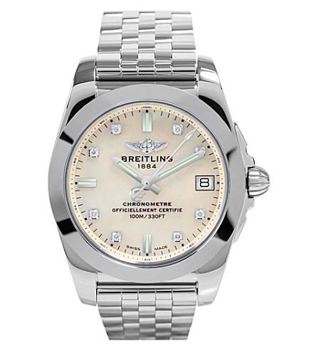 BREITLING W7433012/a780 376a 银河 36 不锈钢腕表