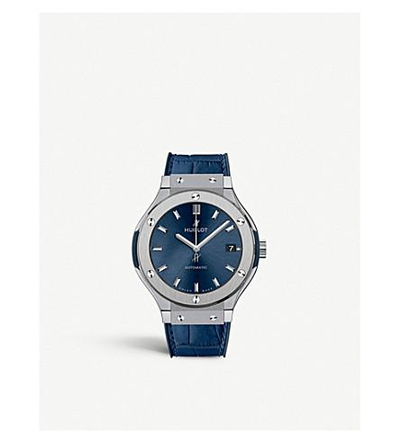 HUBLOT 511.NX.7170.LR Classic Fusion Blue Titanium Watch