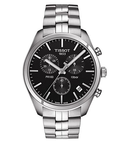 TISSOT T101.417.11.051.00 公关100不锈钢手表