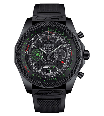 BREITLING Breitling for Bentley GT3 titanium chronograph watch