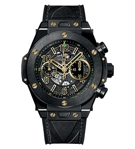 HUBLOT 411.CX.1189.VR.USB16 big bang unico ceramic usain bolt limited edition watch