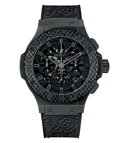 HUBLOT 311.CQ.1110.VR.FDK15 Big Bang Sugar Skull Ceramic Carbon Watch