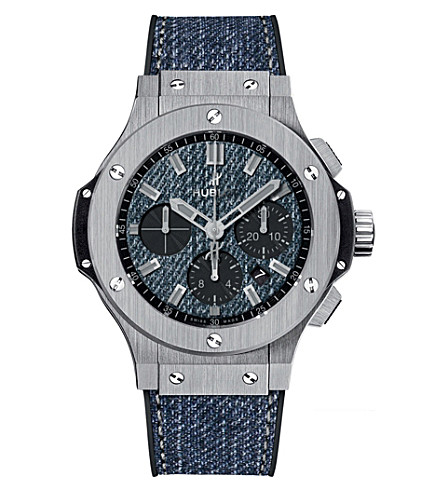 HUBLOT 301.SX.2770.NR.JEANS16 Big bang jeans steel watch