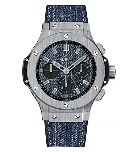 HUBLOT 301.SX.2770.NR.JEANS16 Big bang jeans steel watch
