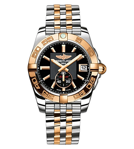 BREITLING C3733012/BA54 Galactic 36 rose-gold and 不锈钢 chronograph watch
