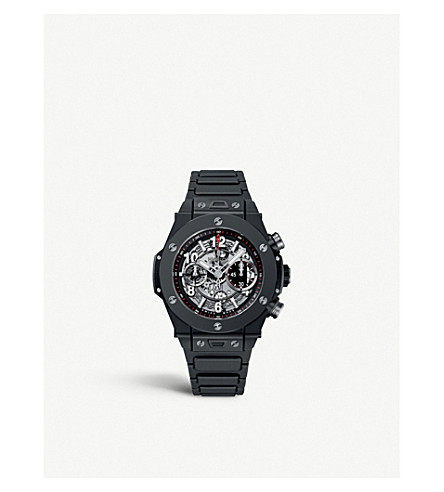 HUBLOT 411.CI.1170.CI Big bang unico black magic watch