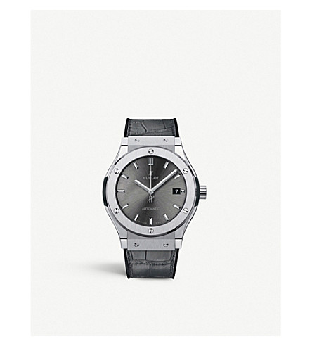 HUBLOT Hublot Classic Fusion Racing Grey Titanium Watch
