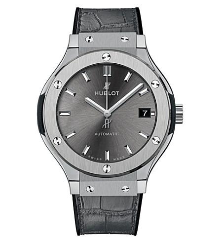 HUBLOT 511.NX.7071.LR Classic Fusion Racing Grey Titanium Watch