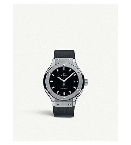 HUBLOT Classic fusion 582.nx.1170.rx titanium watch