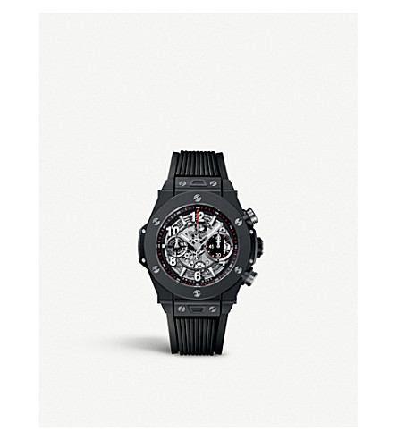 HUBLOT 411.CI.1170.RX big bang unico black magic watch