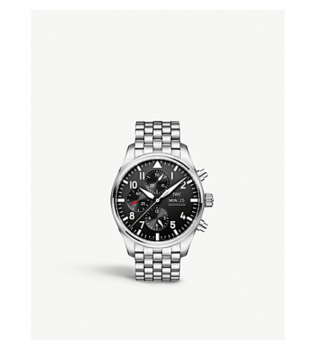 IWC SCHAFFHAUSEN IW377710 Pilot's stainless steel watch
